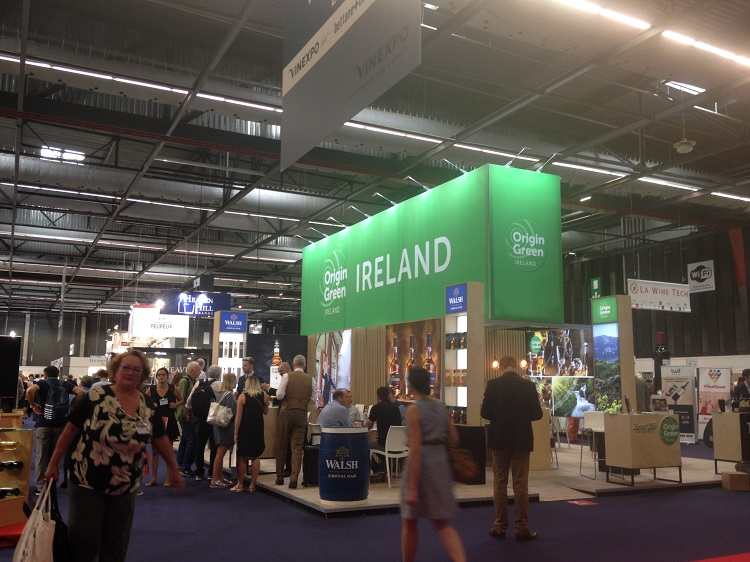 Vinexpo 2017 - Stand Whisky Irlandes