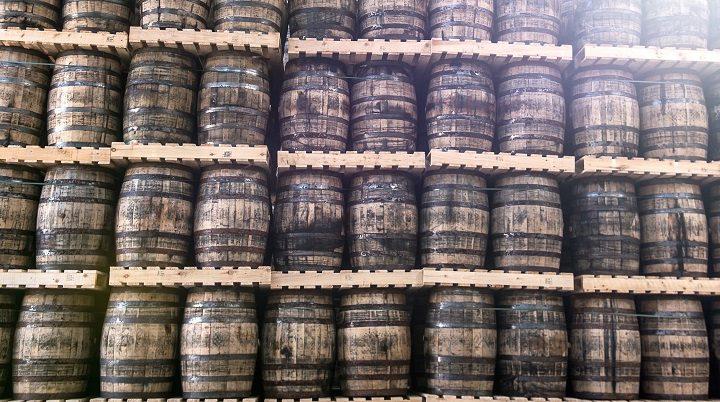 Boom del Whisky irlandes